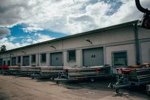 Reševalni čolni BARRO - pripravljeni za prevzem
